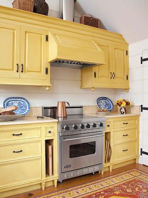 Ragam Warna Kabinet Dapur Yang Elegan