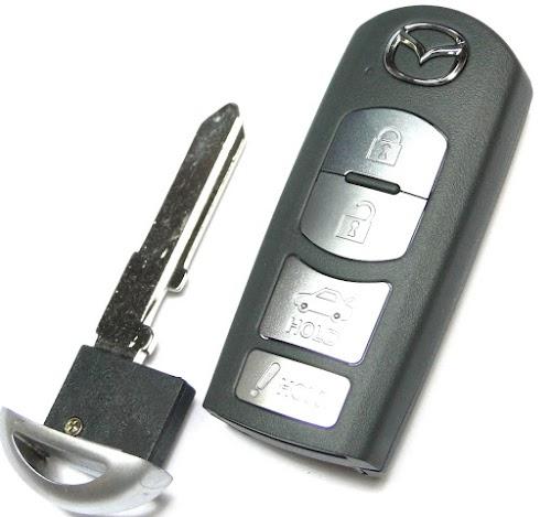 Chìa khóa xe mazda| Xe không khóa được cốp xe| Không đề nổ được xe mazda| Chìa khóa thông minh mazda