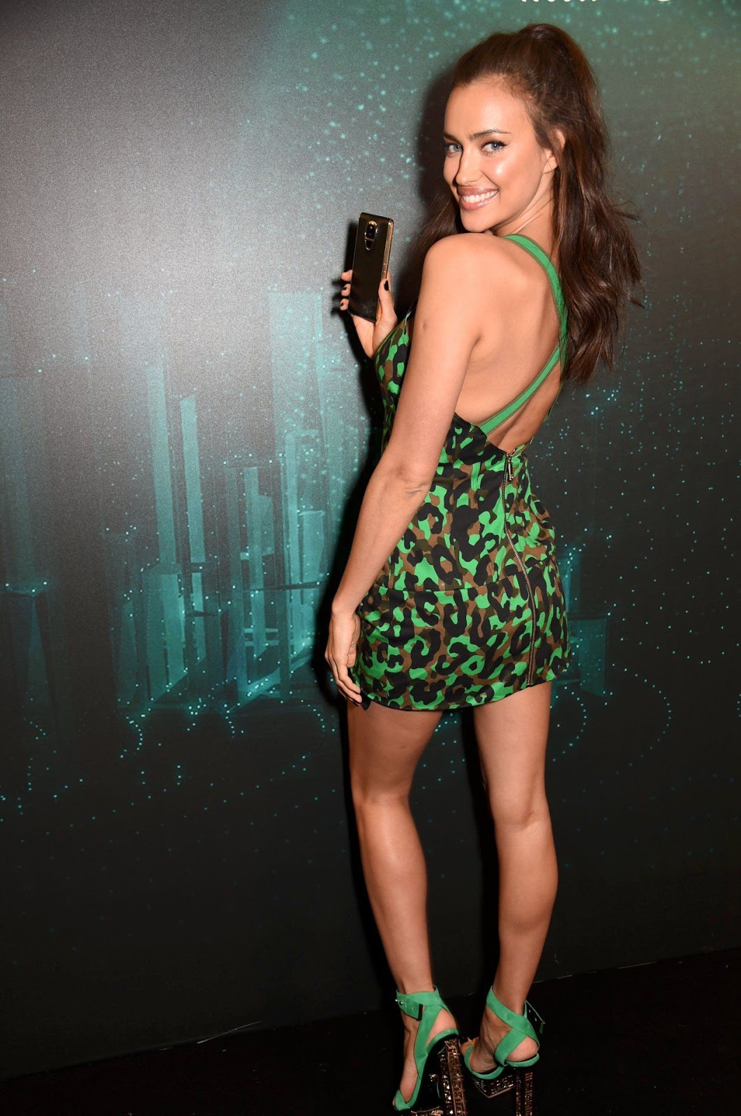 Irina Shayk at Sirin Labs VIP Launch Party in London