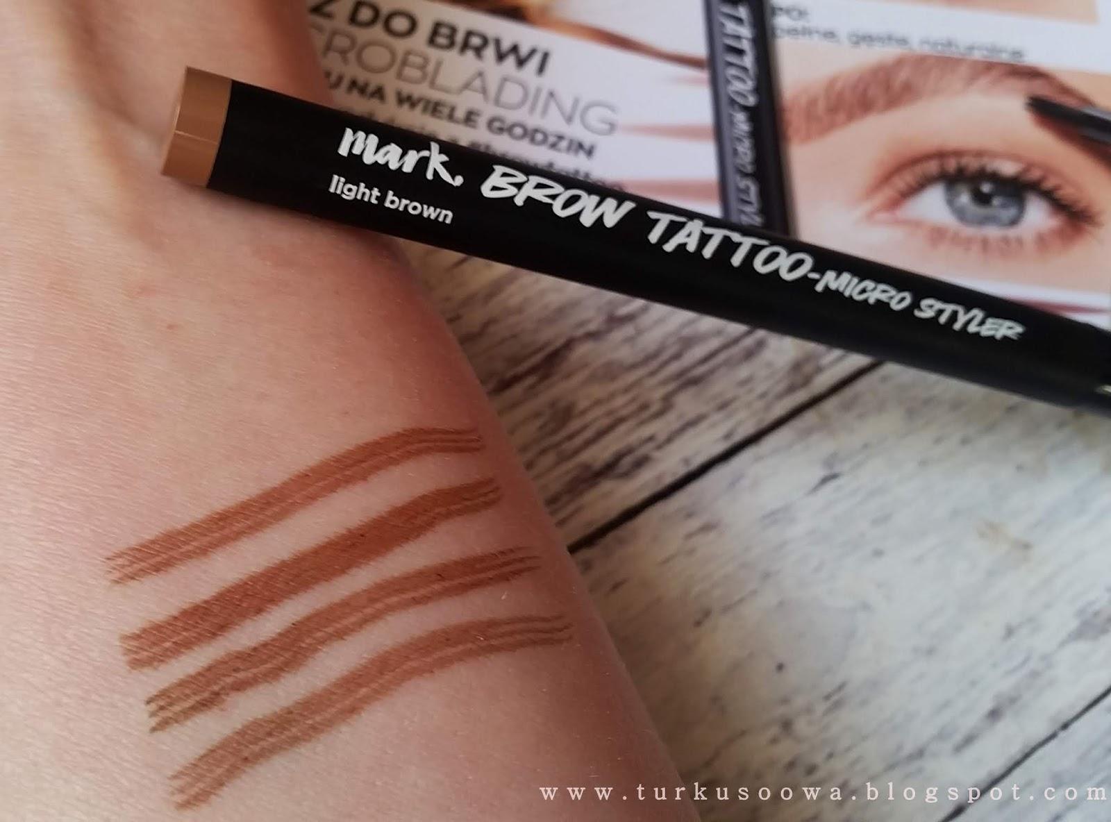 Turkusoowa Beauty Blog Nowość Od Avon Tatuaże Do Brwi I