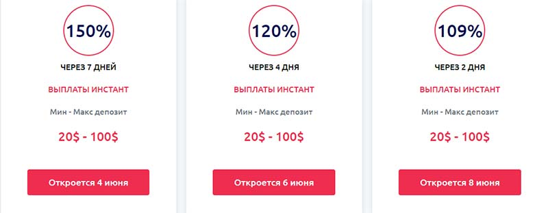 Инвестиционные планы Zerobit IT 2
