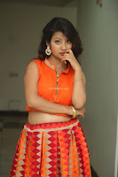 Shubhangi Bant in Orange Lehenga Choli Stunning Beauty ~  Exclusive Celebrities Galleries 062.JPG