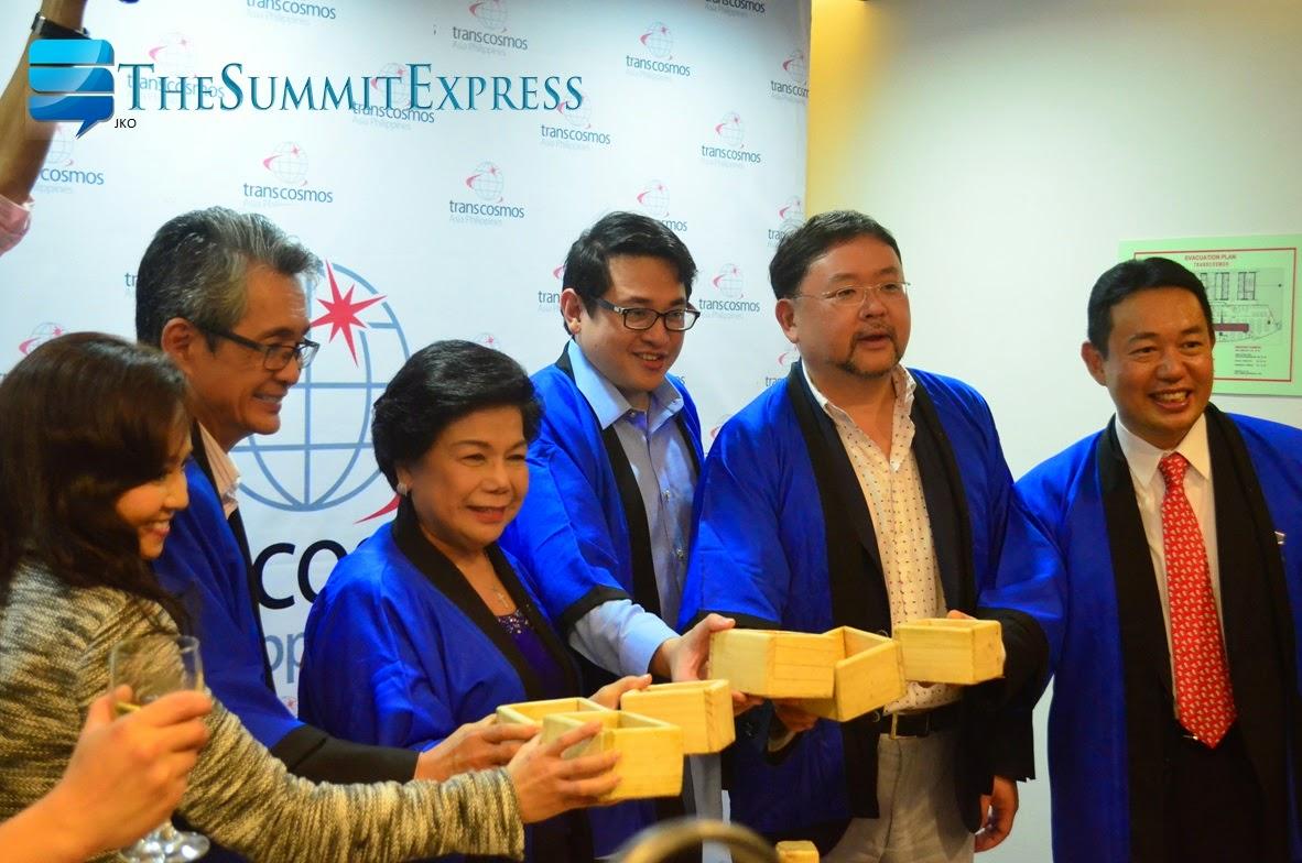 Transcosmos Asia Philippines Inc. (transcosmos) Inaugural opening