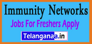Immunity Networks Recruitment 2017 Jobs For Freshers Apply