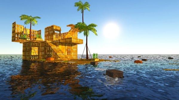 Raft Survival Simulator v1.6.1 Mod Apk Unlimited Money