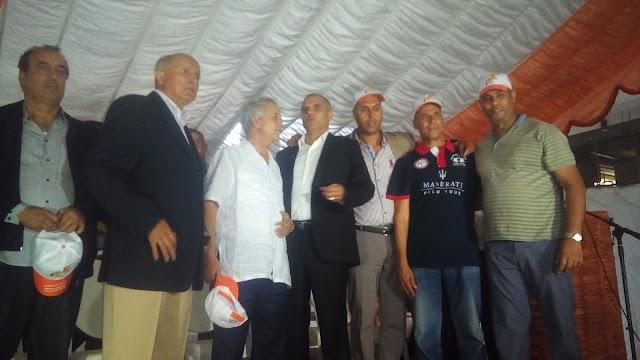 """بالصور ...""""لمينضة """" يخترق قلعة """"الحواص"""" بمهرجان خطابي بالسوالم وبحضور محمد ساجد"""