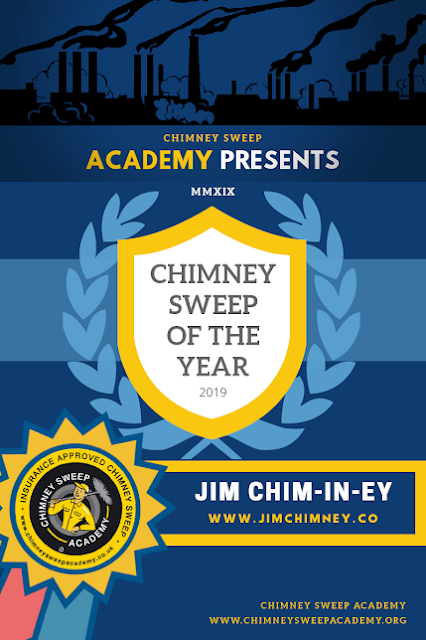 Chimney Sweep of the Year - Jim Chim-in-ey - Bournemouth Dorset 02