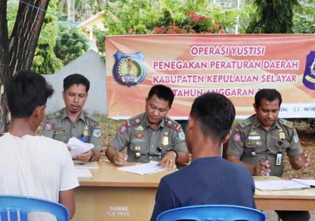 Terjaring Operasi Yustisi, Warga langsung Diarahkan Bikin, KTP