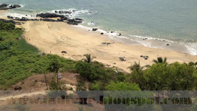 Japanese Garden beach, Goa, Intia