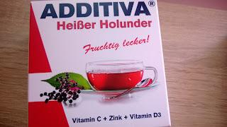 Heiser Holunder Brause Pulver in verpackung