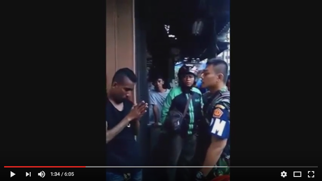 Debt Collector Ini Nangis Saat Dilabrak Oleh Polisi Militer