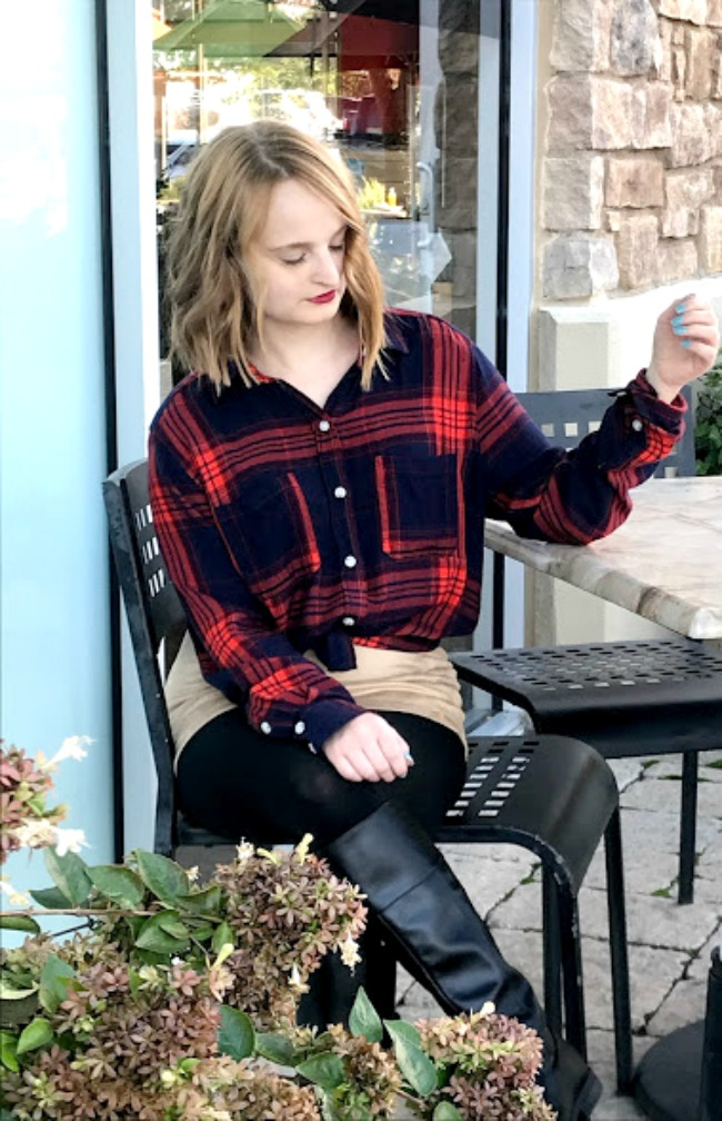 An Easy Plaid Look For Thanksgiving