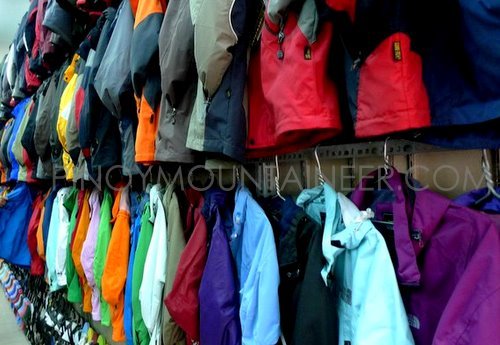 Essay  Fake or genuine  Buying The North Face outdoor gear in ... 981b6d7f4372