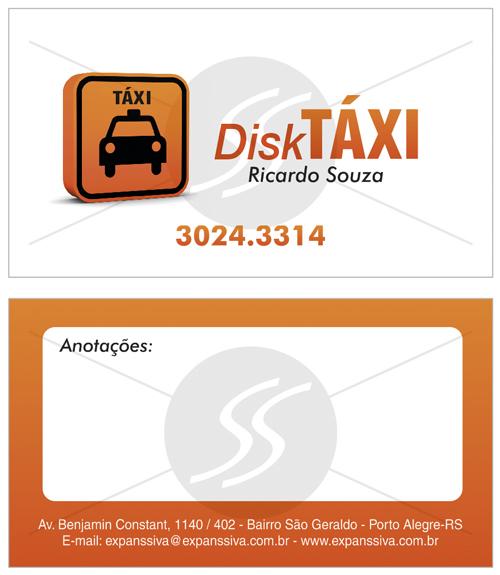grafica cartao de visita taxistas - Cartão de visita criativo para taxistas