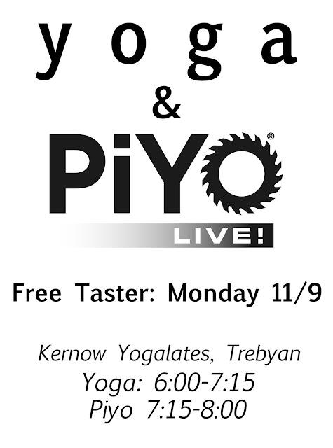 yoga piyo class bodmin