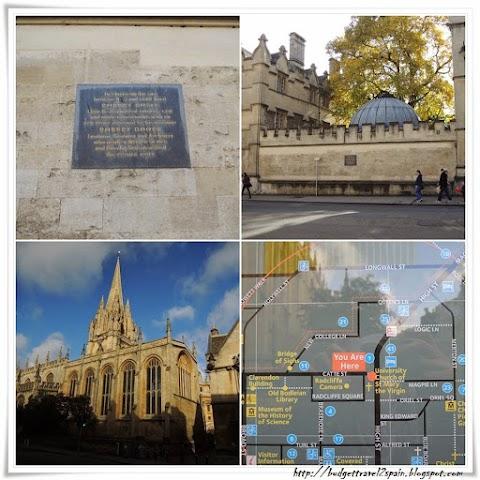Walking around Oxford: Part 2