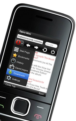 Opera Mini For Java And Blackberry Updated To V7 1 With Download