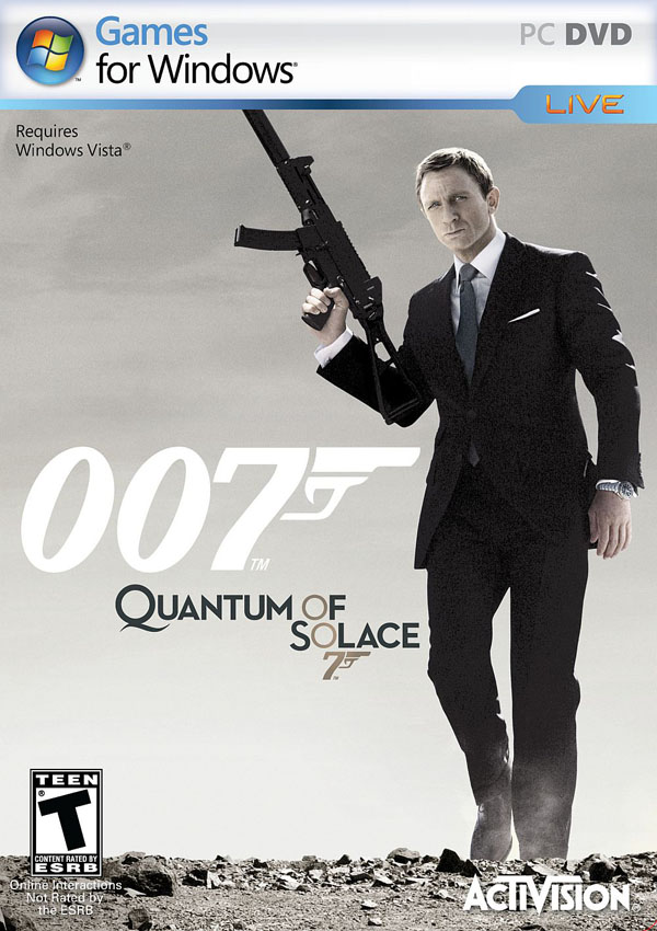 007 Quantum of Solace Download Cover Free Game