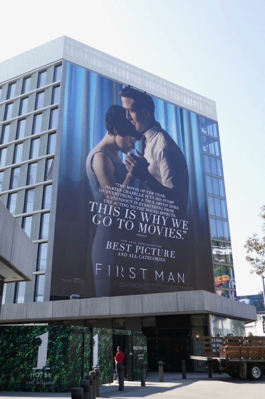 First Man For your consideration billboard