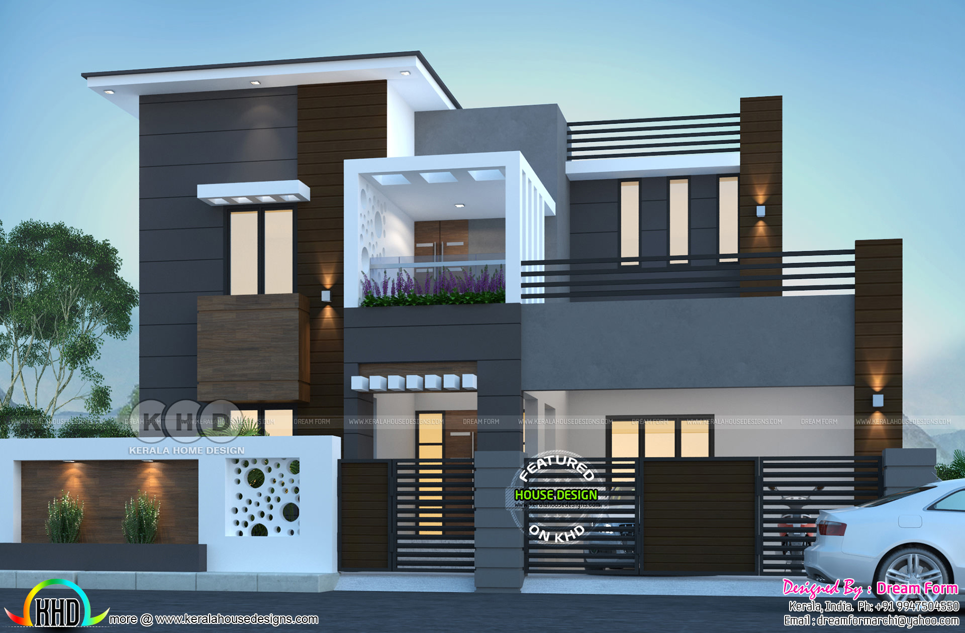 274 Sq M Modern Contemporary House Kerala Home Design
