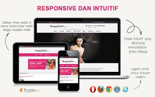 Template Untuk Toko Online Responsive