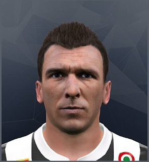 PES 2017 Facepack v4 by Bou7a Facemaker ( Mario Mandzukic )