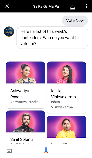 contestants on assistant
