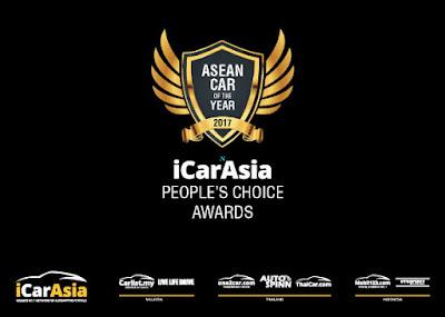 Jadikan Mobil Favoritmu Juara Asia People's Choice Awards, dan Dapatkan Hadiah Total Puluhan Juta