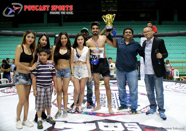 Balikitan 14 Heart of a Warrior Winner Vishal Sharma of Budo Kai Do MMA Federation - Punjab, India