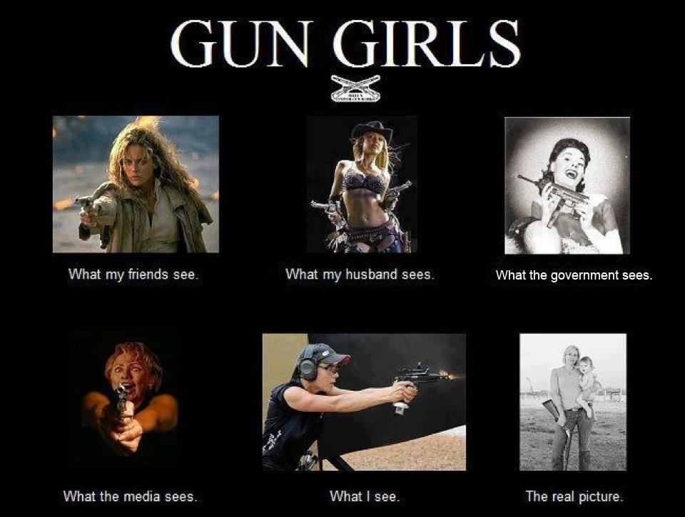 Funny Gun Quotes And Sayings. QuotesGramGirls With Guns Quotes
