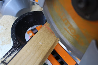 using a mitre saw for cutting angles