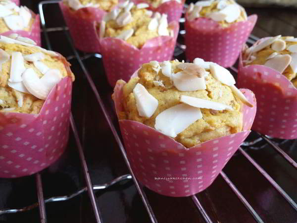 Resep Muffin Labu Kuning Lembut Tidak Seret