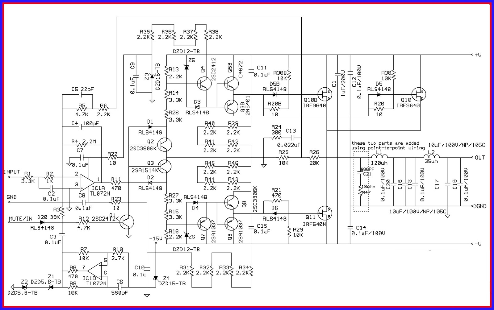 7 1 Home Theater Circuit Diagram 1998 Honda Accord Starter Wiring Electronic Equipment Repair Centre Infinity Modulus Ii
