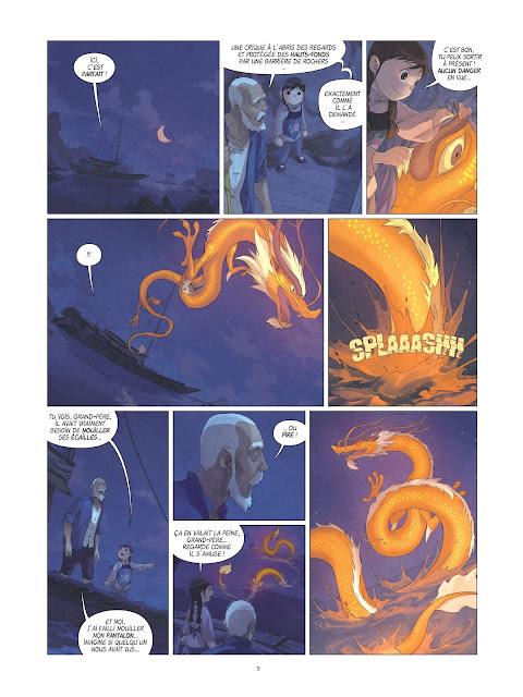 Yin et le dragon tome 2 page 9 Rue de Sèvres