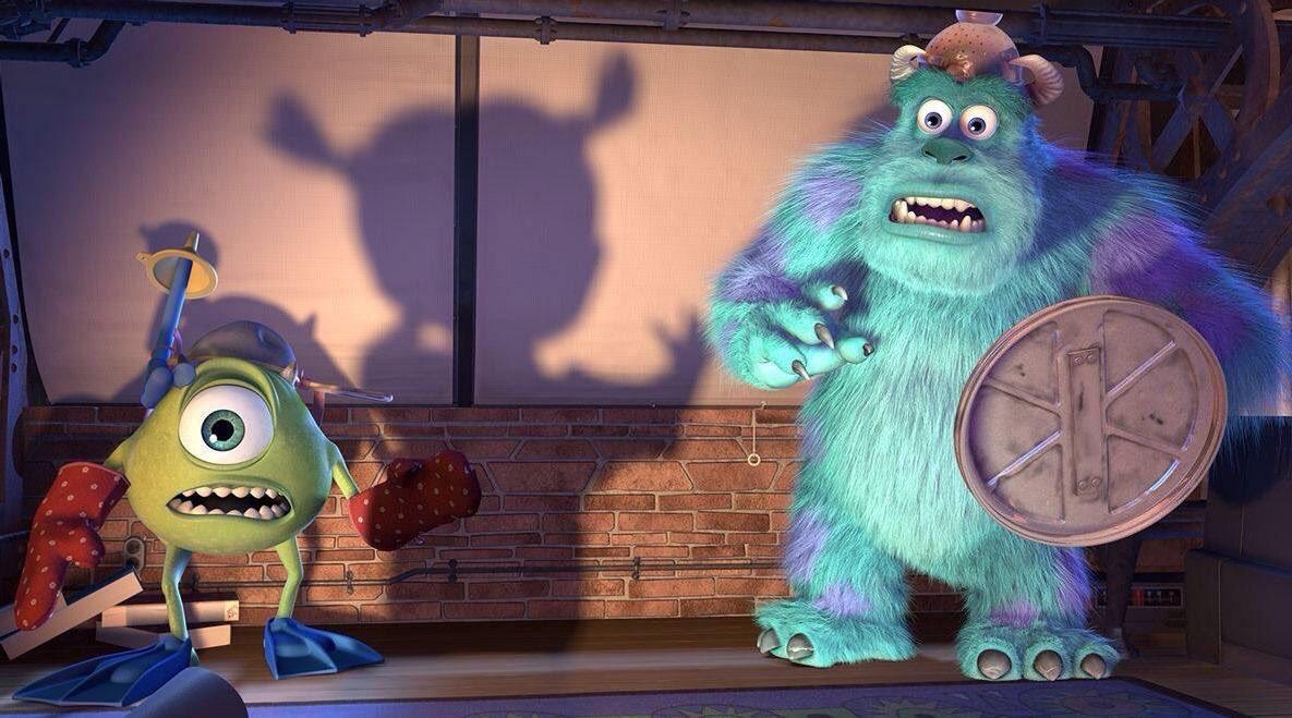 Monsters Inc 3D Movie Photos
