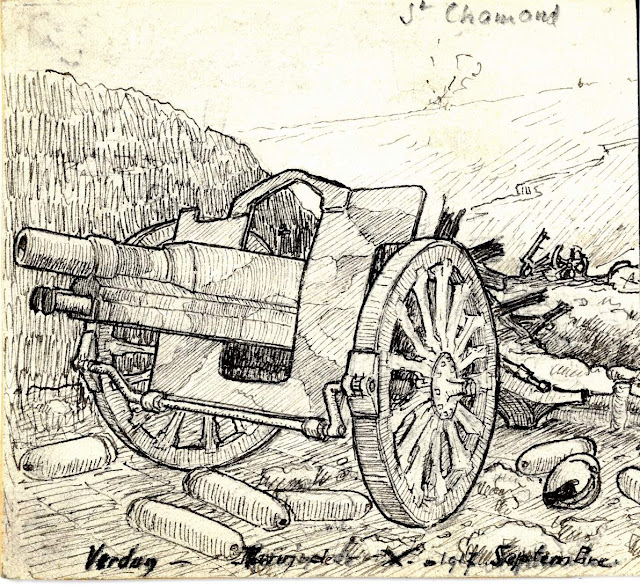 Henri Antoine, un vosgien illustrateur dans la Grande Guerre !
