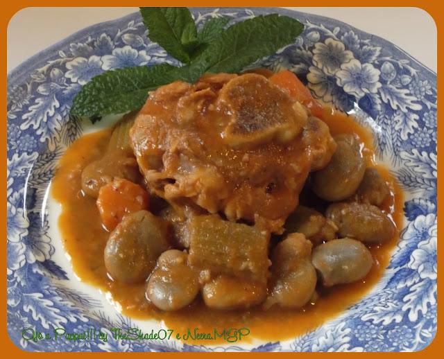 Fotografia della ricetta Stinco di maiale con fave