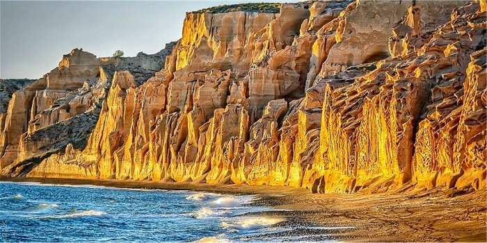 Santorini: spiagge zona orientale