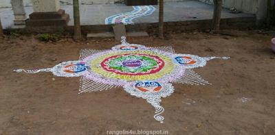 Happy Diwali Rangolis