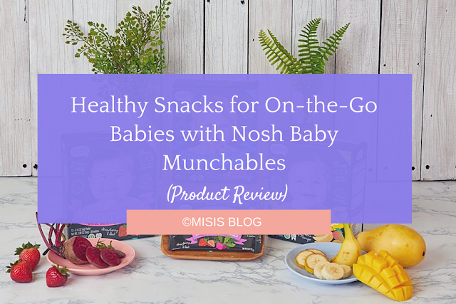 nosh baby teething munchables product review