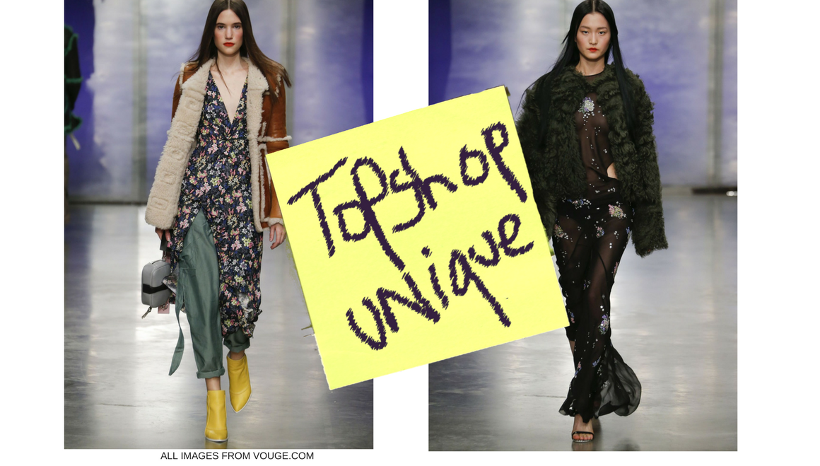 Topshop Unique AW17