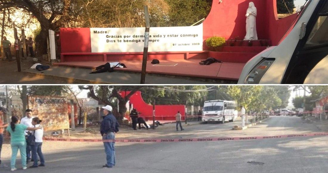 Aumenta a 6 ejecutados por emboscada de sicarios a los custodios del Cereso Femenil de Morelos