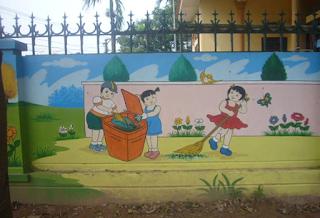 Hướng dẫn bảo vệ môi trường trong trường mầm non