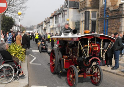 Steam engines at the Trevithick festival