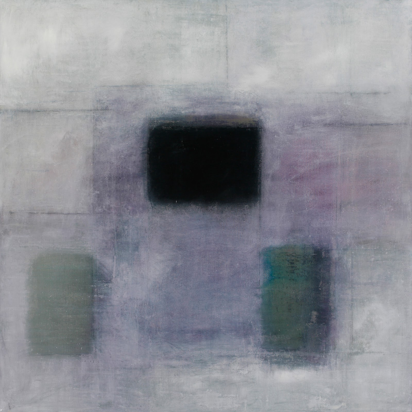 Image of the abstract painting entitled Why He Fled by artist Martha Hope Carey