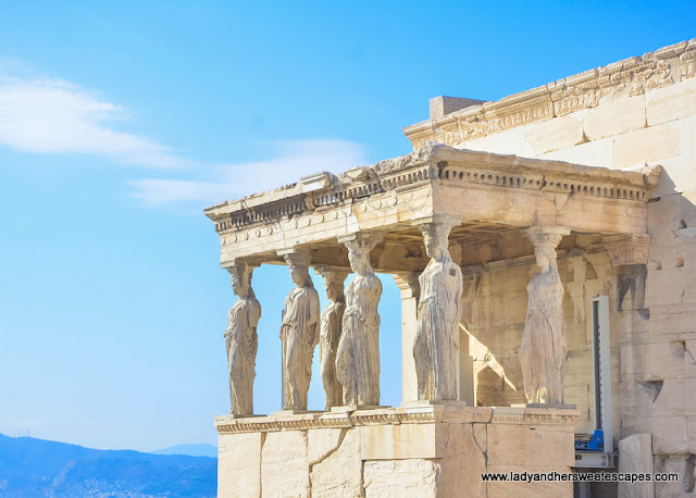 Erechtheion: a Greek temple dedicated to Athena and Poseidon