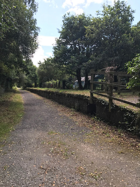 Disused railway platform, Tarka Trail, somewhere south of Bideford
