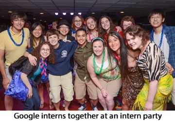 google undergraduate internships