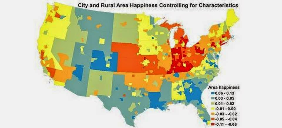 happiness in the United States