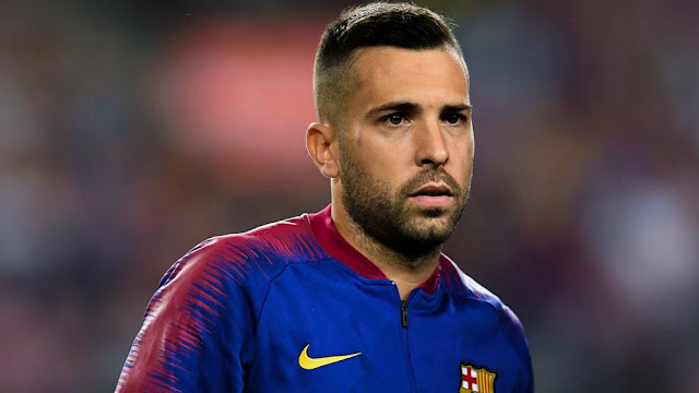 Resmi Barcelona Perpanjang Kontrak Jordi Alba